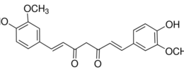 Structure of Curcumin(Natural) CAS 458-37-7