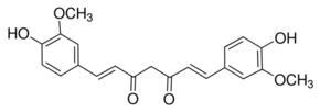 Structure of Curcumin(Natural) CAS 458-37-7