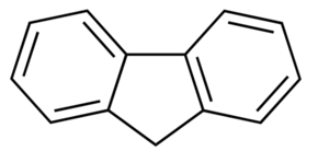 Structure of Fluorene CAS 86-73-7