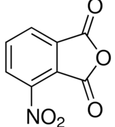 Structure of 3-Nitrophthalicanhydride CAS 641-70-3