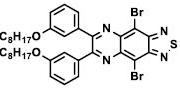 Structure of 4,9-dibromo-6,7-bis[3-(octyloxy)phenyl]-[1,2,5]Thiadiazolo[3,4-g]quinoxaline CAS 1454835-30-3