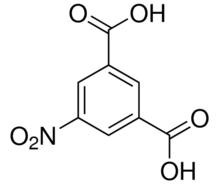 Structure of 5-Nitro isophthalic acid CAS 618-88-2