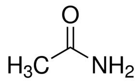 Structure of Acetamide CAS 60-35-5