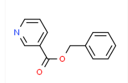 Structure of Benzylnicotinate CAS 94-44-0