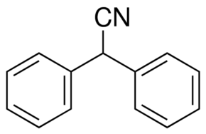 Structure of Diphenylacetonitrile CAS 86-29-3