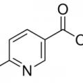 Structure of Methyl 6-methylnicotinate CAS 5470-70-2