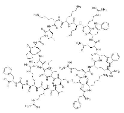 Structure of lactoferrin CAS 146897-68-9