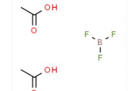 Structure of Boron Trifluoride-Acetic Acid Complex CAS 373-61-5