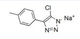 Structure of Chlorotolyltriazole Sodium Salt (HRA) CAS 202420-04-0