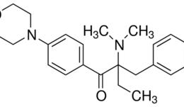 Structure of 2-Benzyl-2-(dimethylamino)-4'-morpholinobutyrophenone CAS 119313-12-1