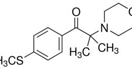 Structure of 2-Methyl-4'-(methylthio)-2-morpholinopropiophenone CAS 71868-10-5