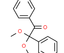 Structure of 2,2-Dimethoxy-2-phenylacetophenone CAS 24650-42-8