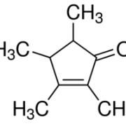 Structure of 2,3,4,5-Tetramethyl-2-cyclopentenone CAS 54458-61-6