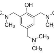 Structure of 2,4,6-Tris(dimethylaminomethyl)phenol CAS 90-72-2