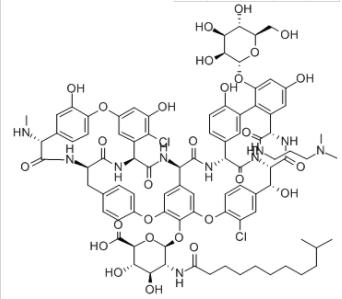 Structure of Dalbavancin CAS 171500-79-1