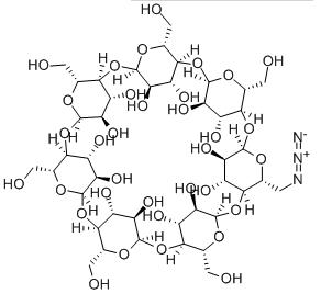 Structure of Mono-6-Azido-6-deoxy-beta-Cyclodextrin CAS 98169-85-8