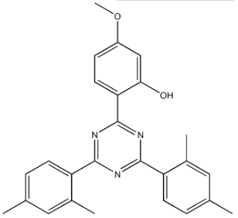 Structure of UV-1166 CAS 1820-28-6