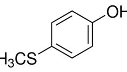 Structure of 4-(Methylthio)phenol CAS 1073-72-9