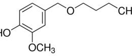 Structure of Vanillyl butyl ether CAS 82654-98-6