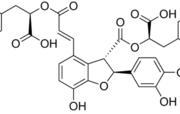 Structure of lithospermic acid B CAS 121521-90-2