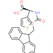 Structure of Fmoc-(r)-3-thienylglycine CAS 1217774-71-4