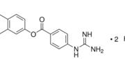 Structure of Nafamostat mesylate CAS 82956-11-4