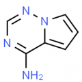 Structure of Pyrrolo[1,2-f][1,2,4]triazin-4-amine CAS 159326-68-8
