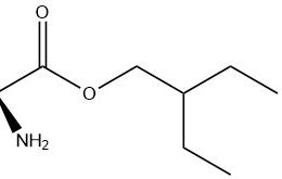 structure of (S)-2-Ethylbutyl 2-Aminopropanoate Hydrochloride CAS 946511-97-3