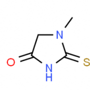 Structure of 1-Methyl-2-thioxoimidazolidin-4-one CAS 29181-65-5