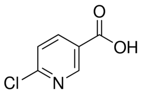 Structure of 6-Chloronicotinic Acid CAS 5326-23-8