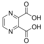 Structure of 2,3-Pyrazinedicarboxylicacid CAS 89-01-0