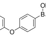 Structure of 4-phenoxyphenylboronic acid CAS 51067-38-0