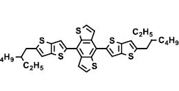 Structure of 4,8-bis(5-(2-ethylhexyl)thieno[3,2-b]thiophene-2-yl)benzo[1,2-b4,5-b']dithiophene CAS 1494614-30-0