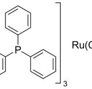 Structure of Carbonyldihydridotris(triphenylphosphine)ruthenium CAS 25360-32-1