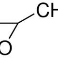 Structure of Propylene oxide CAS 75-56-9