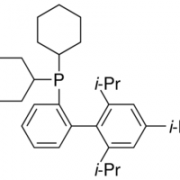 Structure of 2-(Dicyclohexylphosphino)-2',4',6'-triisopropylbiphenyl CAS 564483-18-7