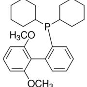 Structure of 2-Dicyclohexylphosphino-2',6'-dimethoxybiphenyl CAS 657408-07-6