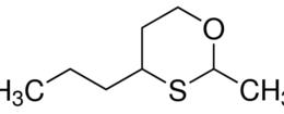 Structure of 2-Methyl-4-propyl-1,3-oxathiane CAS 67715-80-4