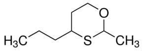 Structure of 2-Methyl-4-propyl-1,3-oxathiane CAS 67715-80-4