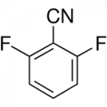 Structure of 2,6-Difluorobenzonitrile CAS 1897-52-5