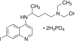 Structure of Chloroquine diphosphate CAS 50-63-5