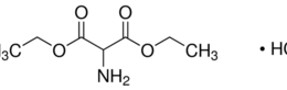 Structure of Diethyl aminomalonate hydrochloride CAS 13433-00-6