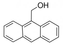 Structure of 9-Anthracenemethanol CAS 1468-95-7