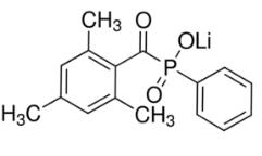 Structure of Lithium phenyl-2,4,6-trimethylbenzoylphosphinate (LAP) CAS 85073-19-4