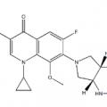 Structure of Moxifloxacin CAS 151096-09-2