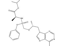Structure of Tenofovir alafenamide CAS 379270-37-8