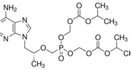 Structure of Tenofovir disoproxil CAS 201341-05-1