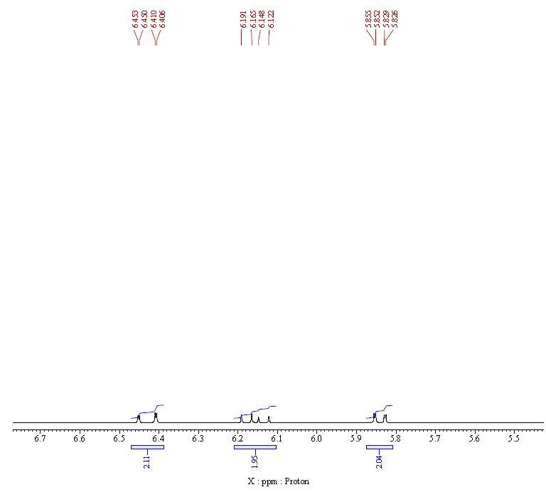 NMR-3 of Poly(ethylene glycol) diacrylate (PEGDA) CAS 26570-48-9