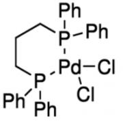 Structure of Bis(tricyclohexylphosphine)palladium(0) CAS 59831-02-6