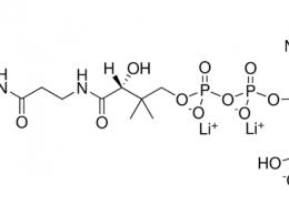 Structurer of Coenzyme A trilithium salt CAS 18439-24-2